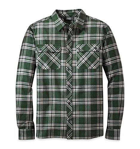 Outdoor Research Men's Crony Long Sleeve Shirt, Evergreen, X-Large