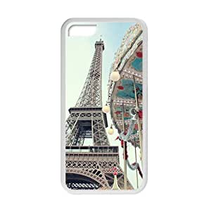 Eiffel Tower With Whirligig Fashion Personalized Phone Case For Iphone 6 plus (5.5)