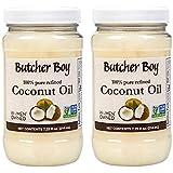 Butcher Boy Coconut Oil | 100% Pure Refined | 7.25 fl oz | 2 Pack