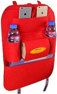 katem Car Seat Storage Bag Auto Multi-Pocket Felt Covers Organizer Storage Holder Stowing & Tidying