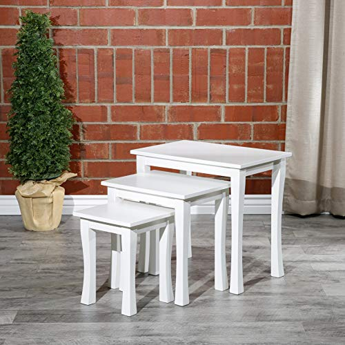 Boulder 3-Piece Nesting Tables DTY Indoor Living Furniture Collection