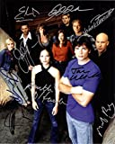 SMALLVILLE CAST Signed Autograph 8x10 REPRINT Photograph Poster RP NEW - TOM WELLING ALLISON MACK