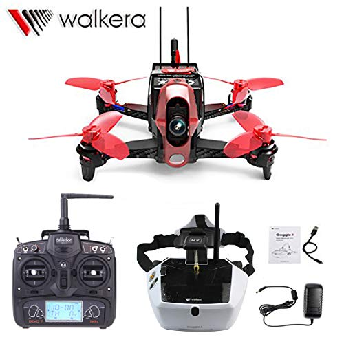 Walkera Rodeo 110 Racing Drone 110mm RC Quadcopter RTF DEVO 7 TX with 5.8G 40CH Goggle4 FPV Glasses / 600TVL Camera /Battery /Charger