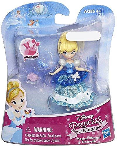 Minis Magical Disney Princess - Cinderella Disney Princess Little Kingdom Magical Glimmer 3 Mini Doll Exclusive