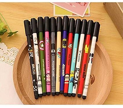 amazon com cute cartoon kawaii diamond tip anime gel pens for