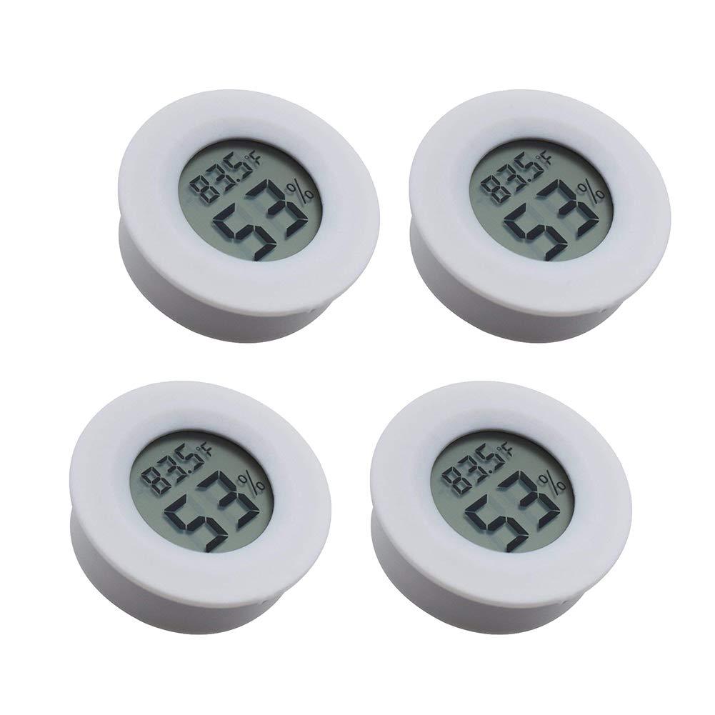 Electronic Thermometer for Kitchen Digital Instant Read Thermometer Hygrometer Indoor Garden Cellar Dark Grey Closet Fridge Tiamat Indoor Temperature Humidity Meter Detector