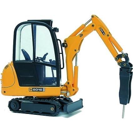 Amazon com: JCB 8016 Mini Excavator with Hydraulic Hammer by Joal