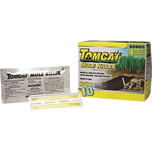Mole Killer Worm Formula (Set of 6)