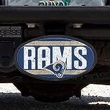 Saint Louis Rams Team Plastic Hitch Cover