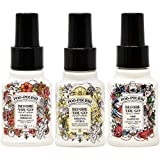 Poo-Pourri Before You Go Toilet Spray Original Citrus, Tropical Hibiscus and Ship Happens 1.4 Ounce Bottles
