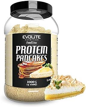 Pancakes de proteínas Evolite – Delicioso desayuno rápido y fácil con alto contenido en proteínas que proporciona mucha energía, apoya el anabolismo e ...