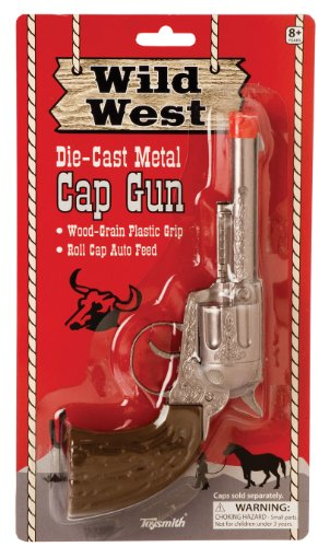 Toysmith Wild West Metal Cap ()