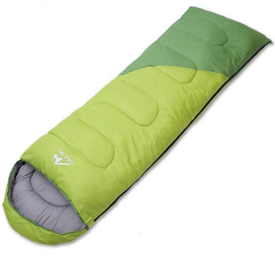 vert 2.0kg UICICI Sac de Couchage en Coton Adulte Sac de Couchage Universel Quatre Saisons pouvant être Cousu Vert