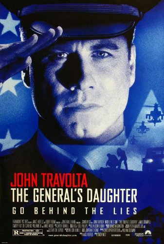The General's Daughter Movie Poster (27 x 40 Inches - 69cm x 102cm) (1999) -(John Travolta)(Madeleine Stowe)(James Cromwell)(Timothy Hutton)(James Woods)(Leslie Stefanson)