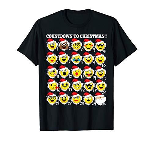 Emoji Christmas Shirt Advent Calendar Toys Emoji Fun Kids
