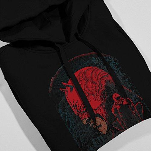 Daredevil Hells Kitchen Mash Up Women's Hooded Sweatshirt