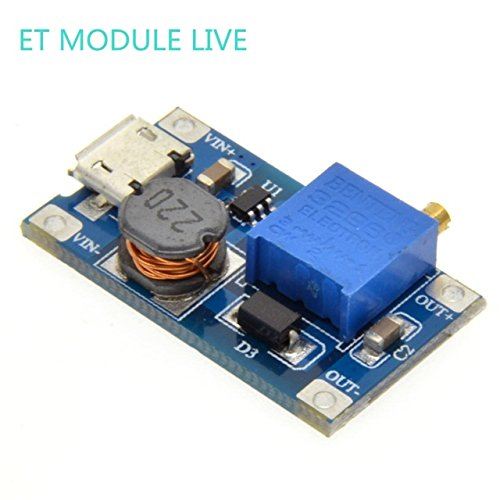 1pcs MT3608 2A Max DC-DC Step Up Power Module with MICRO USB Booster Power Module For Arduino 3.3V/5V to - Accepted Methods Payment