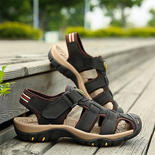 Beach Leather Beach Yao Slippers Leather Yao x6qan0zqP