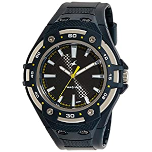 Fastrack Analog Silver Dial Men Watch -NL9332PP06