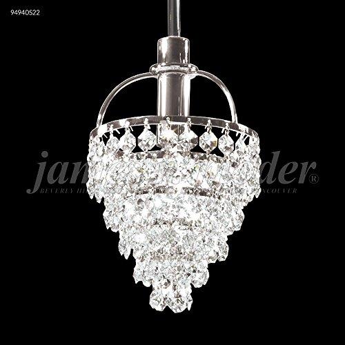James R. Moder 94940S2S Tekno Mini Juliet Pendant in Silver w/ Sapphire Crystal
