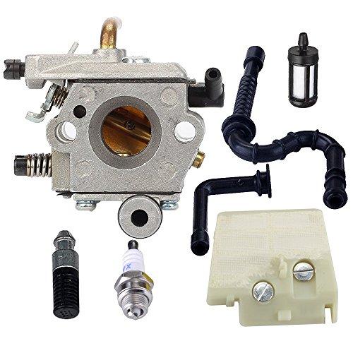 FitBest Carburetor Fits Stihl 024 026 024 026 Pro MS240 MS260 Gas Chainsaw WT-403B -