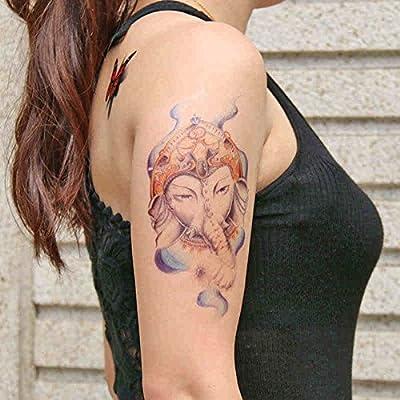 Zokey impermeable tatuaje temporal flors igual a dios como dios ...
