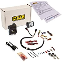 MPC Prewired 1-Button Plug In Remote Starter Kit for Select Chrysler Dodge Jeep [2011-2017] - Simplified Installation