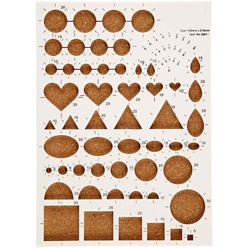 Creativ 21 x 15 cm 1-Piece Quilling Board by Creativ