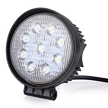Rupse W LED Phare De Travail étanche Rond Rampe à Led Longue - Feux longue portée led