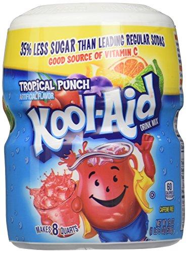 Kool Aid Punch - Kool-Aid Tropical Punch Mix - 19 oz