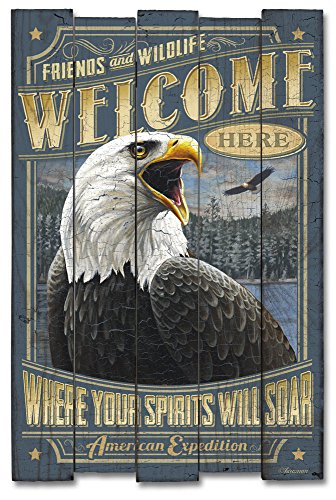 American Expedition Bald Eagle Wooden Cabin ()