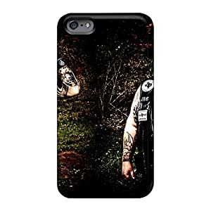 Protector Hard Cell-phone Case For Iphone 6plus (DgC10668yctC) Allow Personal Design Realistic Mayhem Band Skin