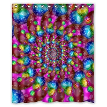 Hippie Shower Curtain