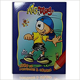 Livro De Colorir Mig Meg Mig Livros Na Amazon Brasil
