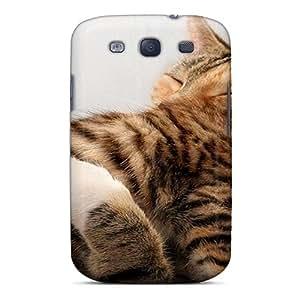 New Style MQMshop Cat Mom's Little Precious Premium Tpu Cover Case For Galaxy S3