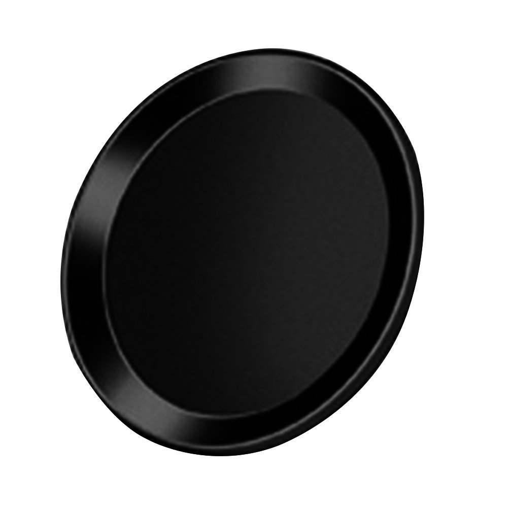 Metal Home Button Sticker Touch ID Support Protector for iPhone 5S 7 6S 6 Plus (Black) by 856store (Image #1)
