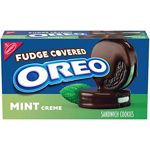 OREO Fudge Covered Mint Cookies, 9.9 Oz. Package]()