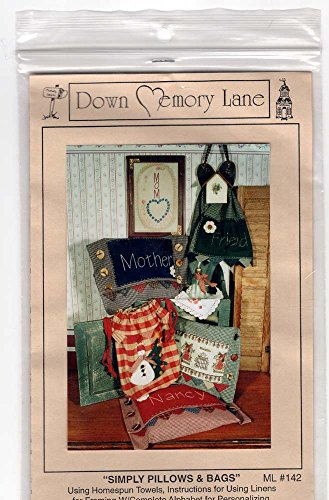 Simply Pillows & Bags ML#142 Down Memory Lane