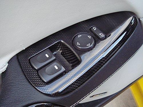 2005 - 2013 C6 Corvette Carbon Fiber HydroGraphics Interior Window Switches 08 GM
