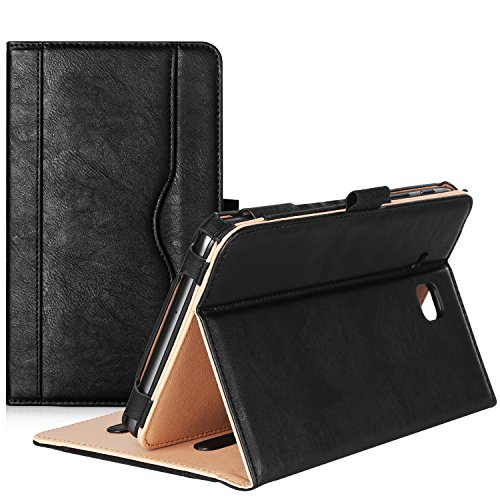 ProCase Samsung Galaxy Tab A 7.0 Case - Stand Folio Case Cover for Galaxy Tab A 7.0 SM-T280 SM-T285 Tablet, with Multiple Viewing Angles, Document Card Pocket (Black)