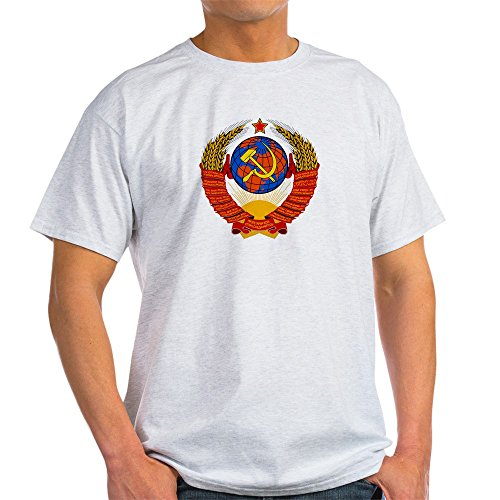 - CafePress Soviet Union Coat of Arms Ash Grey T-Shirt 100% Cotton T-Shirt