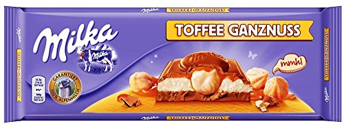 Milka Toffee Ganznuss 10.6OZ/300G