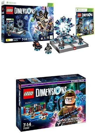 LEGO - Starter Pack Dimensions (Xbox 360) + LEGO Dimensions: Nuevo Ghostbuster (Story Pack): Amazon.es: Videojuegos
