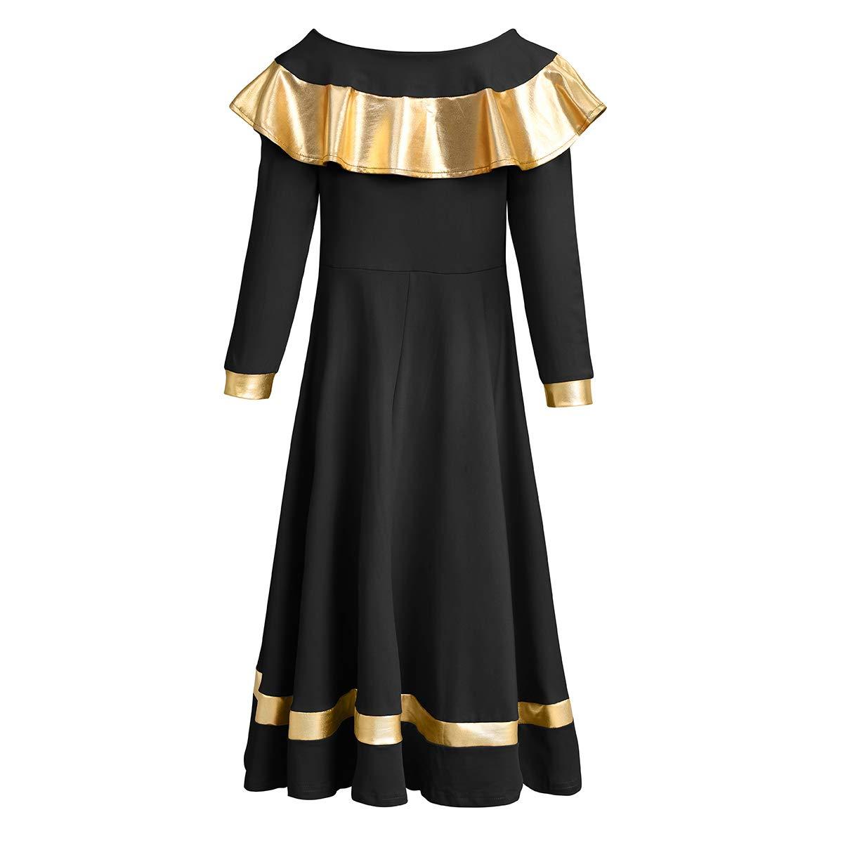 Amazon.com: OwlFay - Vestido de baile con volantes metálicos ...