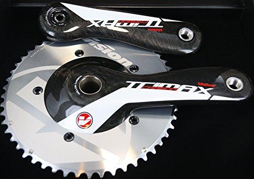 Vision Trimax Carbon TT Triathlon Bike Crankset MegaExo 10/11s 53/39T 172.5 NEW