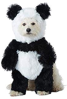 amazon com pandaloon panda puppy dog pet costume size 2 15 17 in