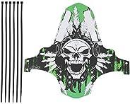 Mountain Bike Mudguard, Bicycle Front & Rear Fender Bike Mud Flaps Splash Guard for Hybrid/Cycling/Racing/