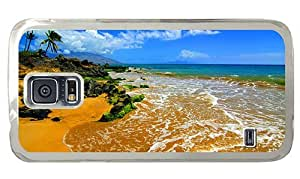 Hipster online Samsung Galaxy S5 Case beach maui PC Transparent for Samsung S5