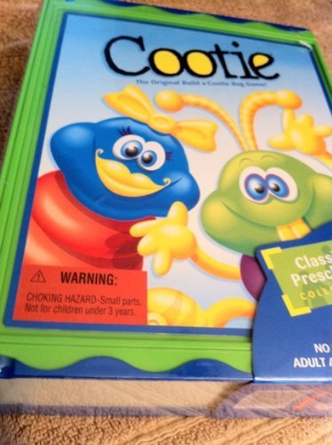 Cootie Bug Game (Cootie Bug Game - Classic Preschool Collection)