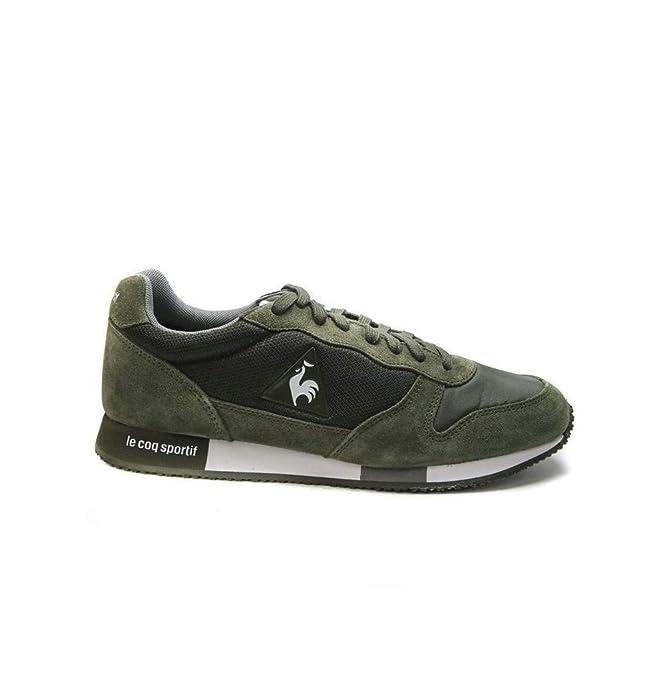 Le COQ Sportif Zapatilla Hombre Alpha Jersey Olive 1820 020: Amazon.es: Zapatos y complementos